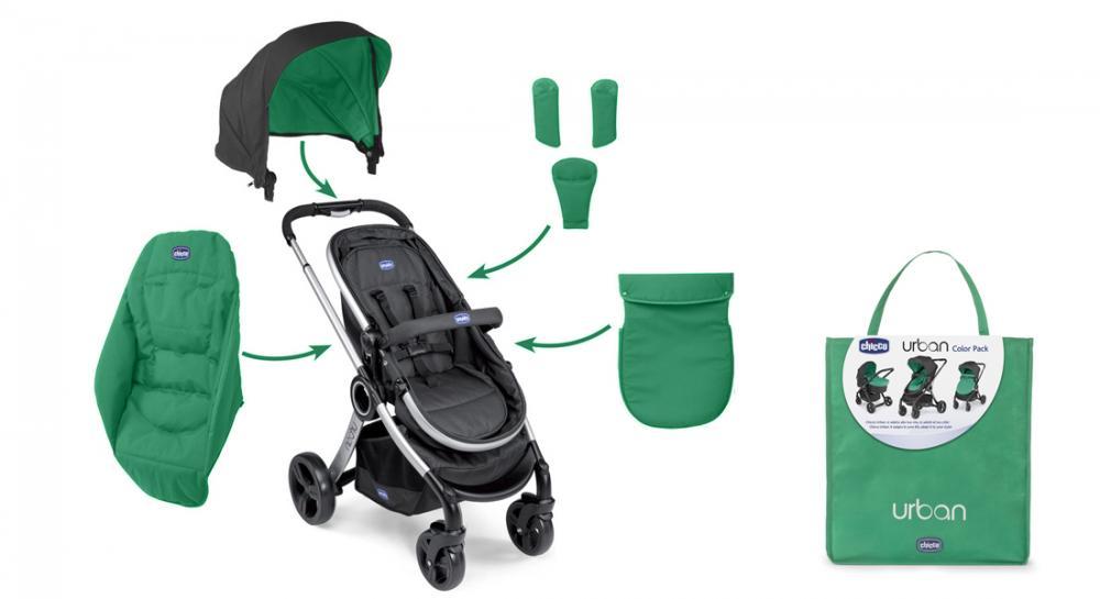 Color Pack Carucior Chicco Urban Special Edition Green