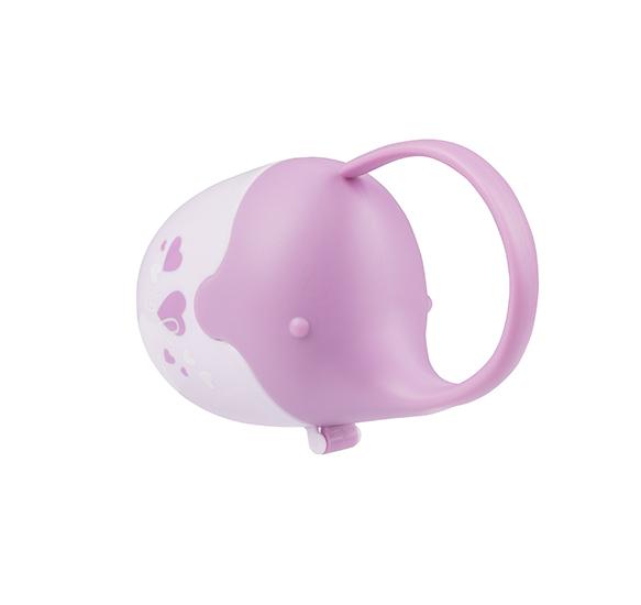 BABYONO Cutie pentru suzete Elefant Roz