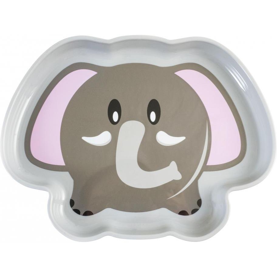 Farfurie plastic Elefant Lulabi 7972901
