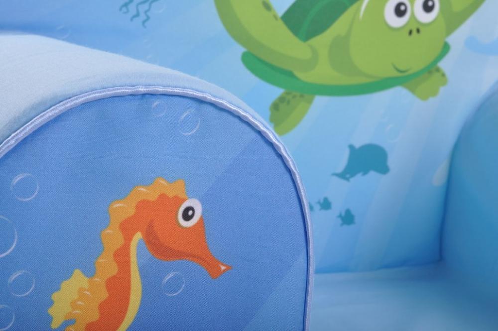 Fotoliu din burete Sea Life
