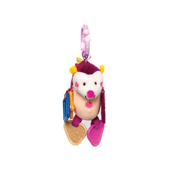 Jucarie pentru caruciorpatut Kikkaboo Hedgehog Pink