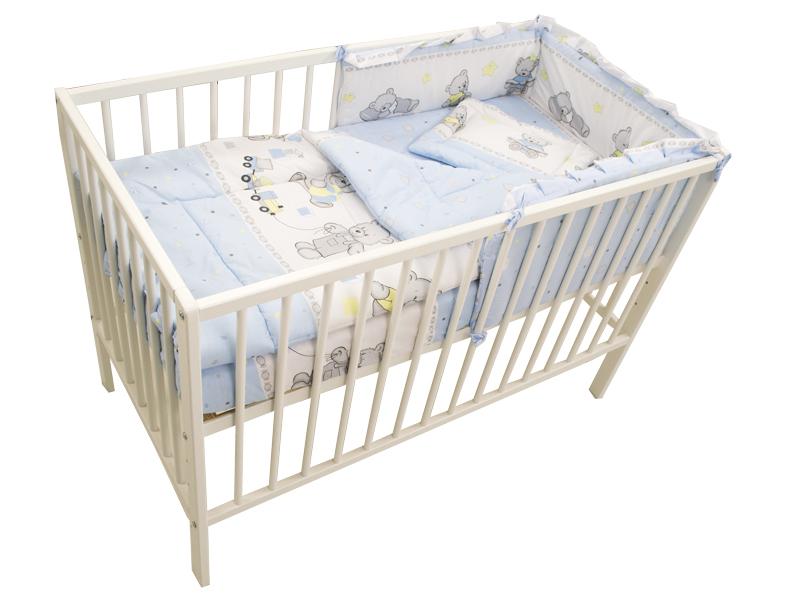 Lenjerie Teddy Toys Blue M2 4 Piese 120x60