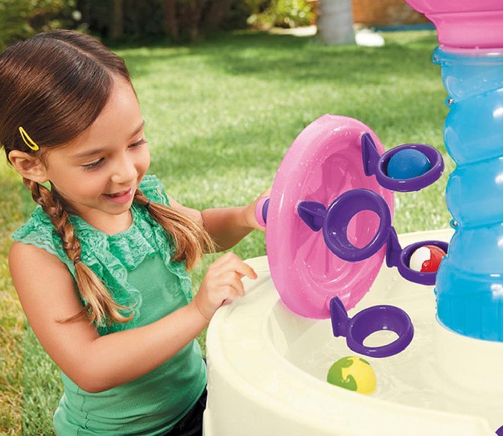 Masuta de joaca cu apa Roz Spirala