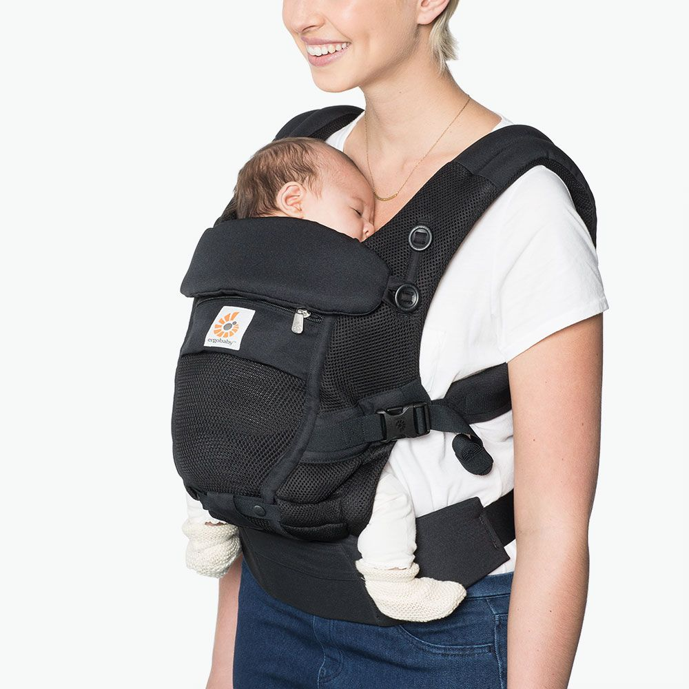 Marsupiu Ergobaby Adapt Cool Air Onyx Black