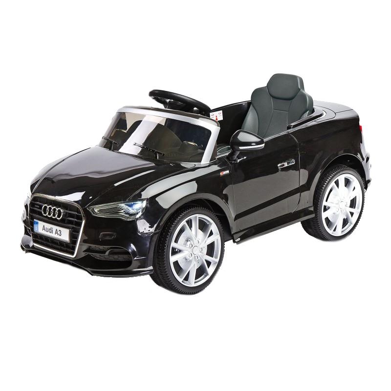 Masinuta Electrica cu telecomanda Toyz by Caretero AUDI A3 2x6V Black