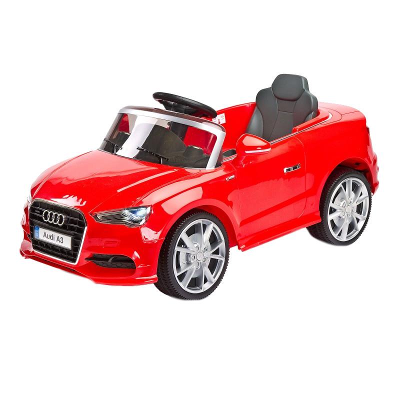Masinuta Electrica cu telecomanda Toyz by Caretero AUDI A3 2x6V Red