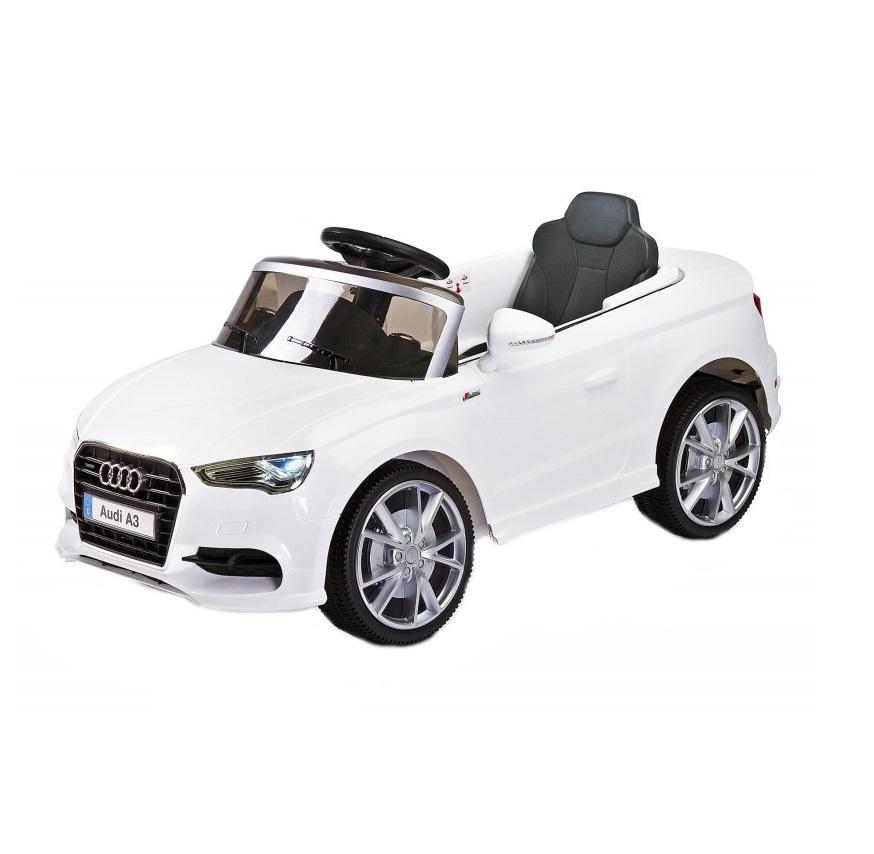 Masinuta Electrica cu telecomanda Toyz by Caretero AUDI A3 2x6V White