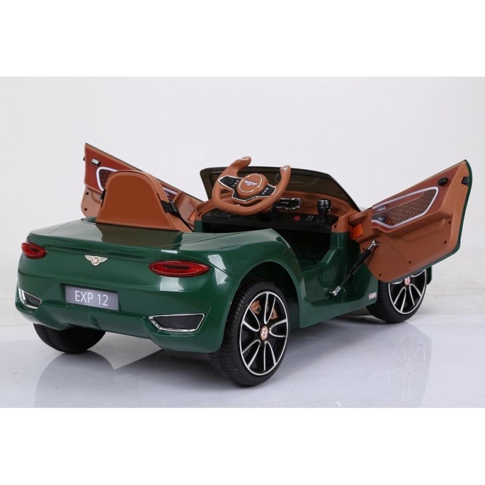 Masinuta electrica cu roti eva Bentley EXP 12 Green - 1