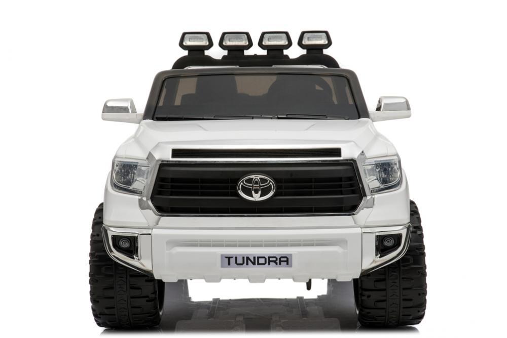 Masinuta electrica cu doua locuri Toyota Tundra XXL 24V Alb