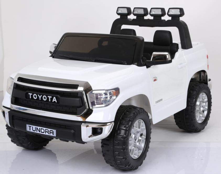 Masinuta electrica cu doua locuri Toyota Tundra 12V Alb - 2