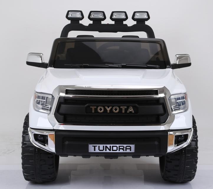 Masinuta electrica cu doua locuri Toyota Tundra 12V Alb