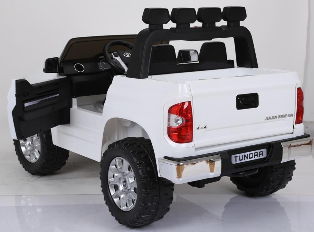 Masinuta electrica cu doua locuri Toyota Tundra 12V Alb - 1