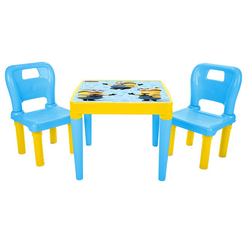Masuta cu doua scaunele Minions