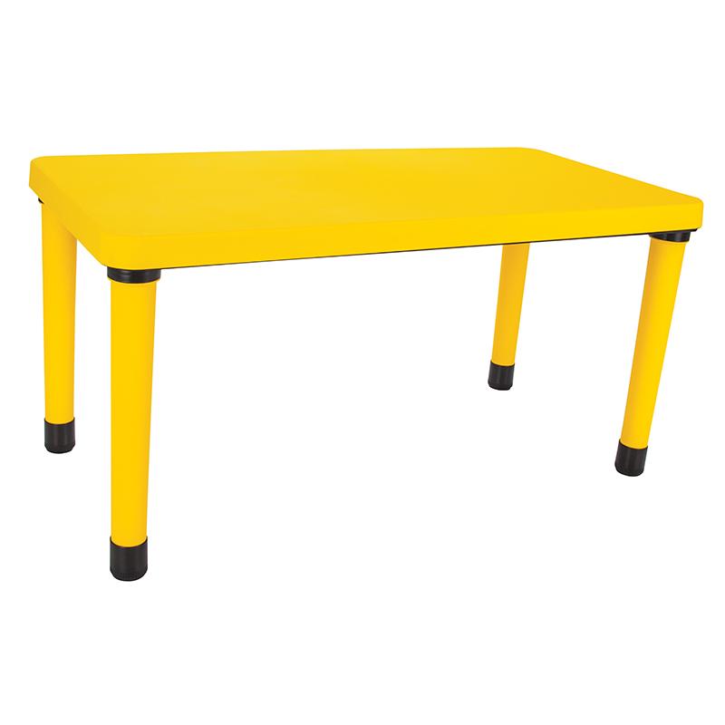 Masuta pentru copii Happy Table Galben