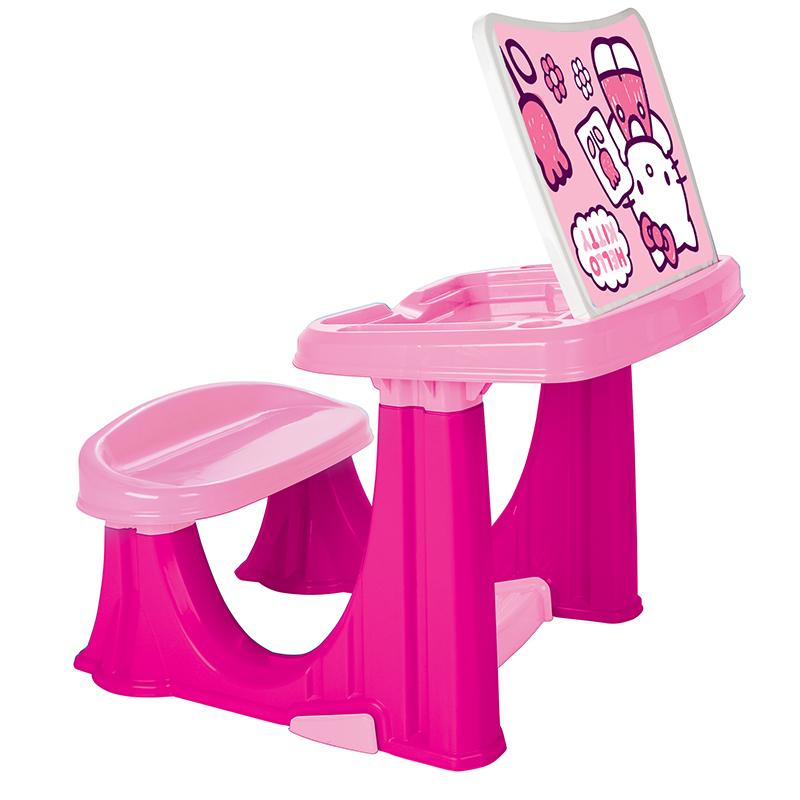 Masuta pupitru pentru copii Hello Kitty