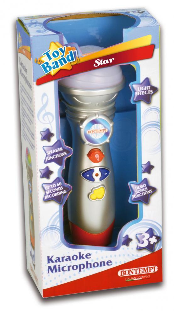 Microfon Karaoke cu lumini