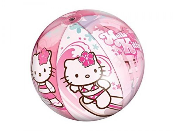 Minge de plaja usoara Mondo Hello Kitty 50 cm