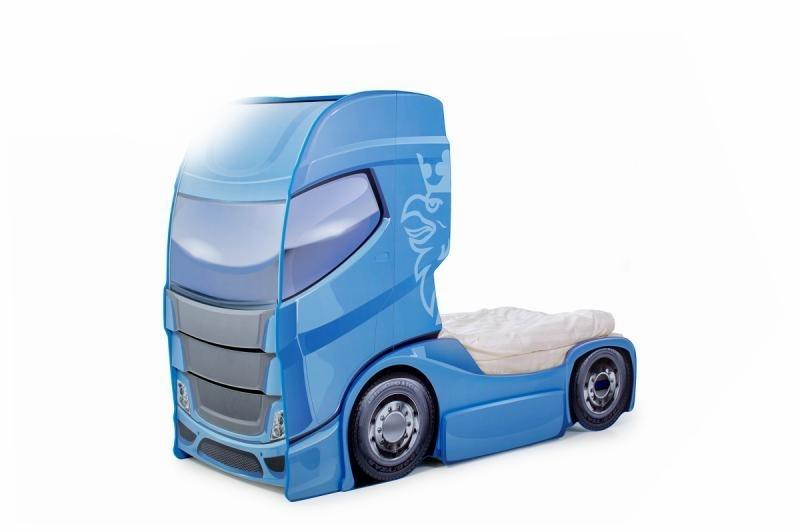 Pat Camion Tineret Duo Scania+1 Albastru