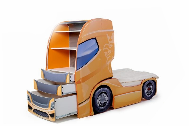 Pat Camion Tineret Duo Scania+1 Orange