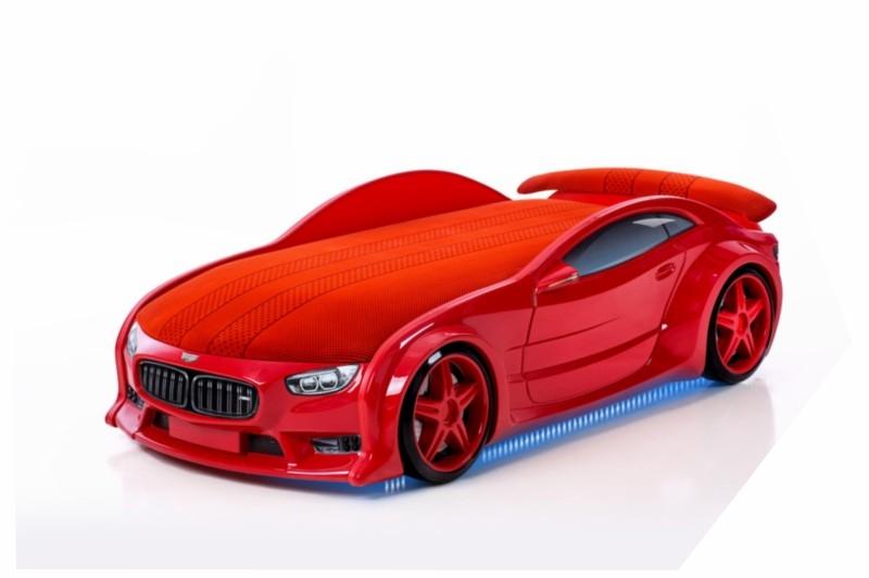 Pat masina tineret NEO BMW Rosu