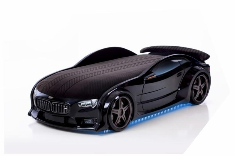 Pat masina tineret NEO BMW Negru