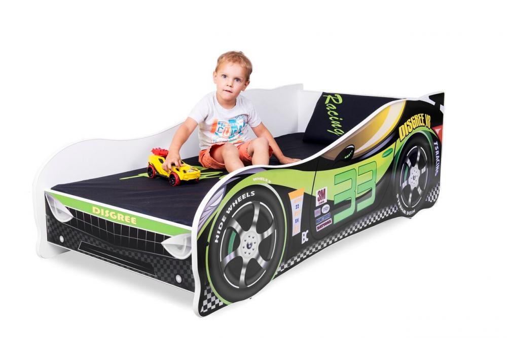 Patut Nobiko Racing 160x80 cm cu saltea