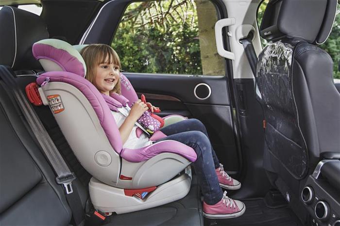 Protectie transparenta pentru scaunul auto imagine