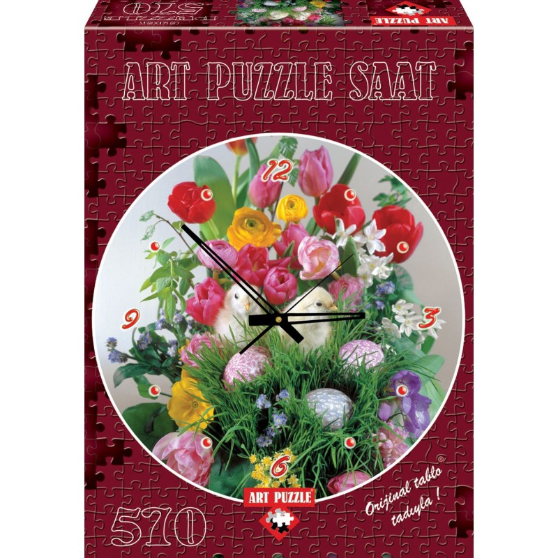 Puzzle 570 piese Ceas You know I will