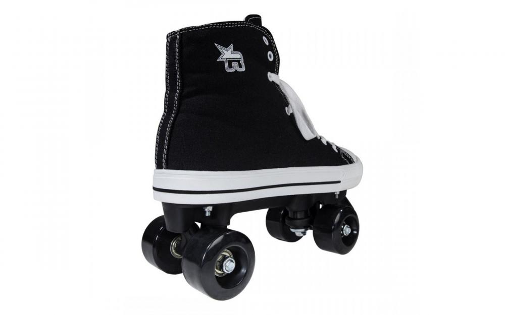 Role Rookie Canvas High Negre 36.5