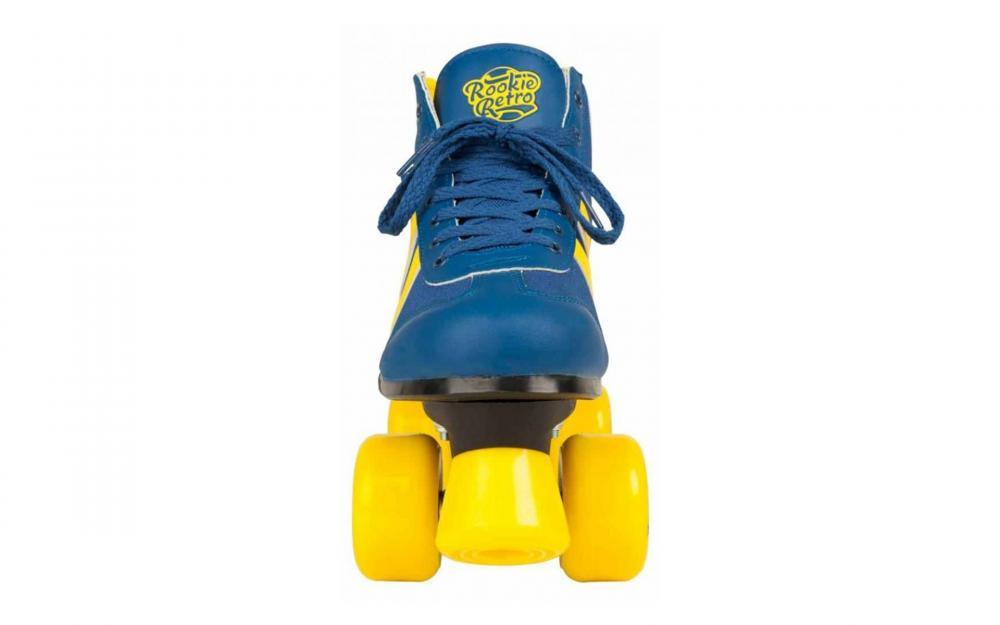 Role Rookie Retro V2 albastru cu galben 38