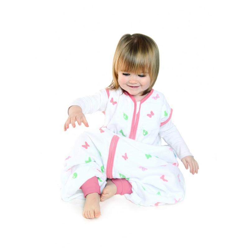 Sac de dormit cu picioruse Girl din muselina 12-18 luni 0.5 Tog