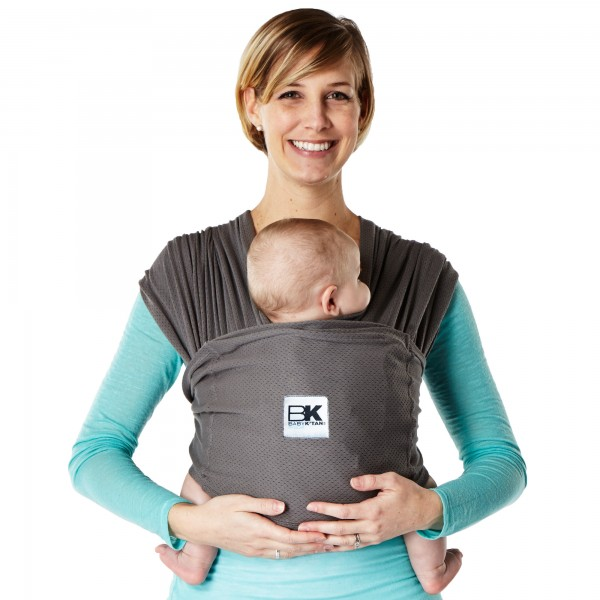 Sistem Purtare Baby Ktan Baby Carrier Breeze Charcoal Marimea S