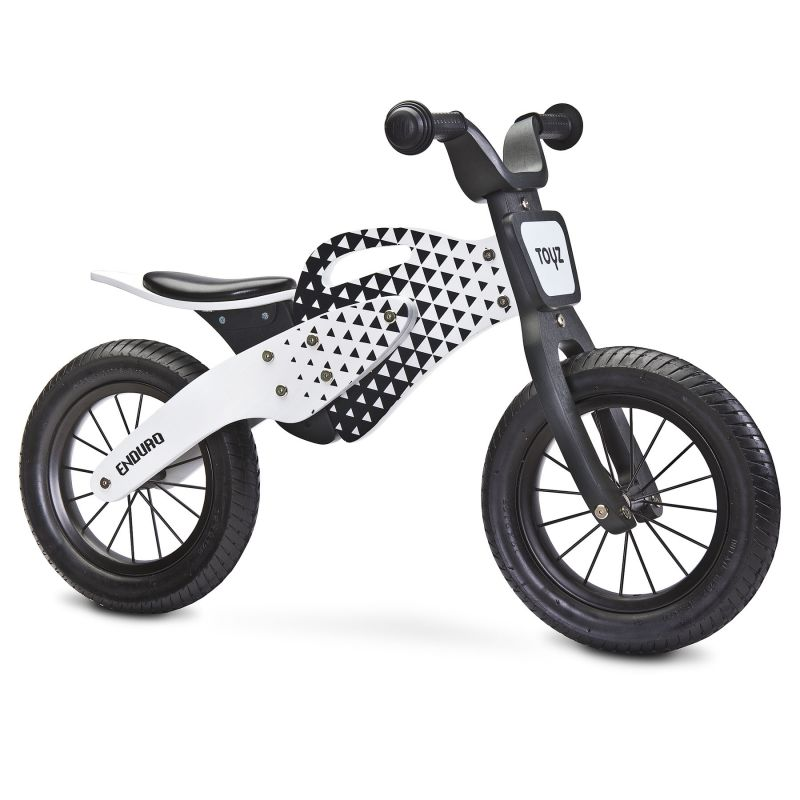 Bicicleta fara pedale Toyz by Caretero Enduro Grey