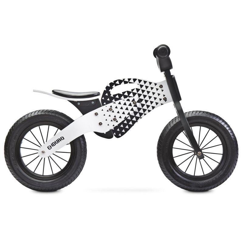 Bicicleta fara pedale Toyz by Caretero Enduro Grey - 1