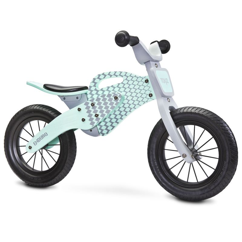 Bicicleta fara pedale Toyz by Caretero Enduro Mint