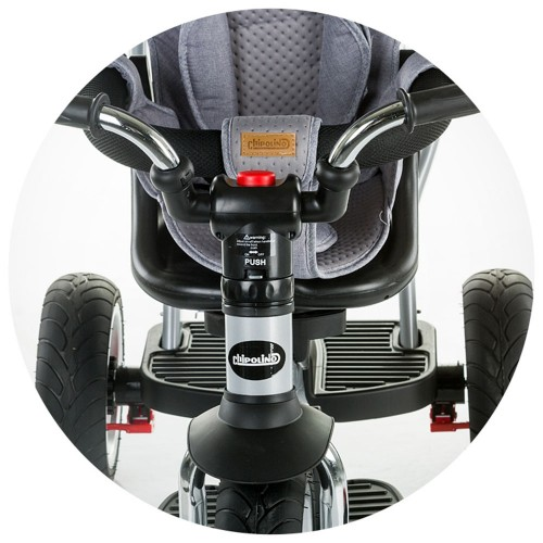 Tricicleta Chipolino Nextro ash