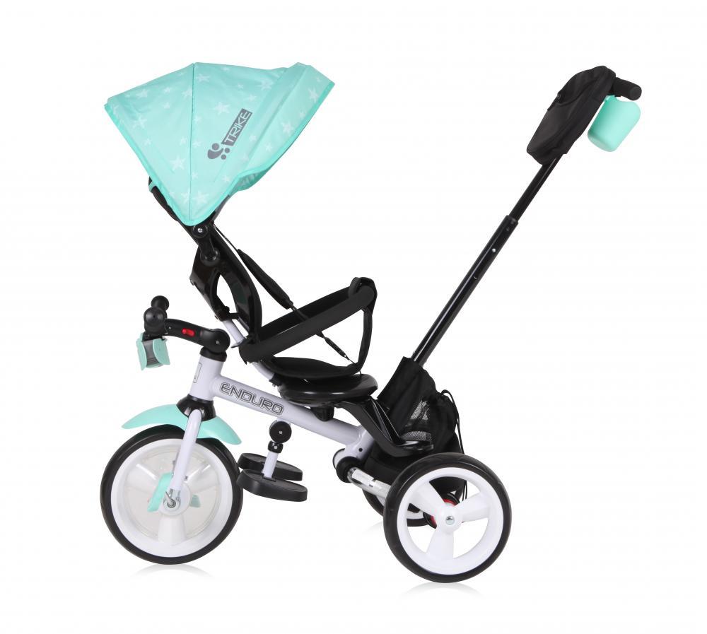 Tricicleta multifunctionala 4 in 1 Enduro cu scaun rotativ Red