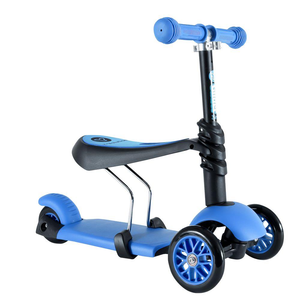 Trotineta Y Volution Glider 3 in 1 blue