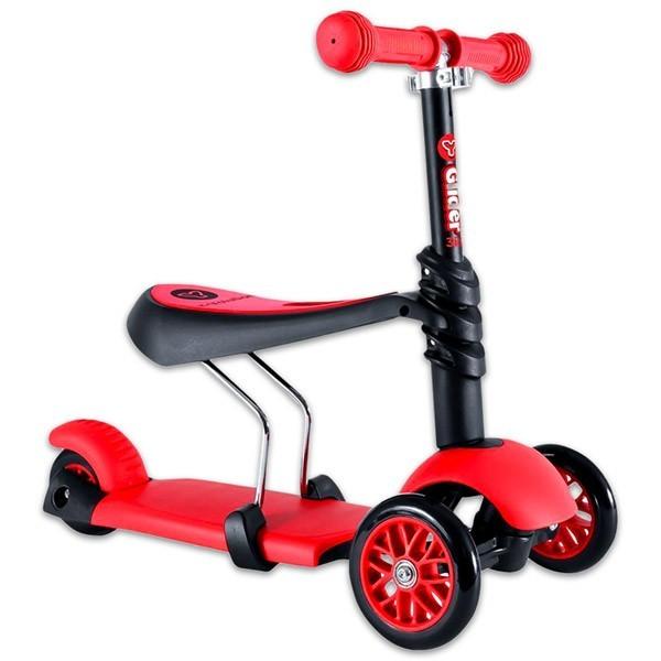 Trotineta Y Volution Glider 3 in 1 red