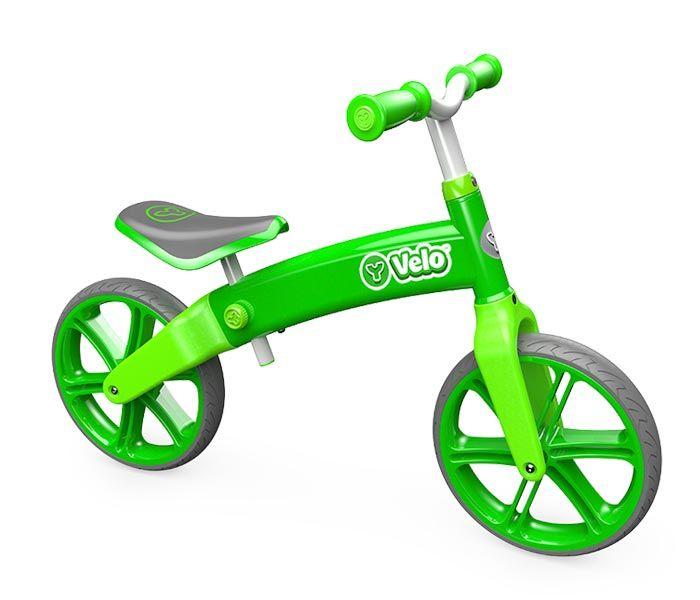 Bicicleta fara pedale Y Volution Y Velo verde senior