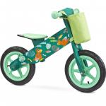 Bicicleta din lemn Toyz by Caretero Zap Green