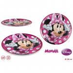 Farfurie melamina pentru copii Minnie Mouse