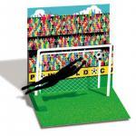 Felicitare 3D Treasure Fotbal