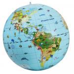 Glob pamantesc gonflabil cu 270 animale 50 cm