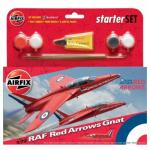 Kit constructie Avion RAF Red Arrows Gnat