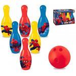 Set bowling Spiderman cu popice si bila Mondo