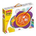 Set creativ pentru copii Spirogiro Mandala Quercetti