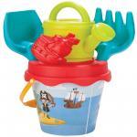 Set galetusa si forme pentru nisip Sweety Bucket Pirat