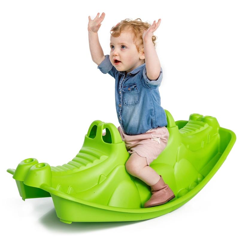 Balansoar Pentru Copii Crocodile Green Nichiduta Ro