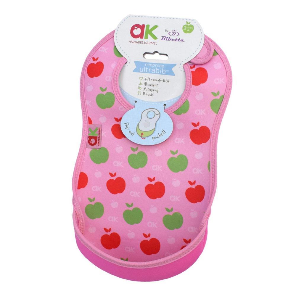Baveta Ultrabib Annabel Karmel Pink apples 3luni+